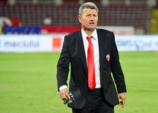 Gheorghe Multescu in Dinamo Bucharest-Universitatea Cluj Royalty Free Stock Photography