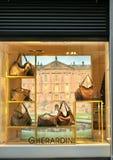Gherardini torby mody sklep w Włochy Zdjęcia Stock