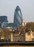 Gherkin Building Stock Photography