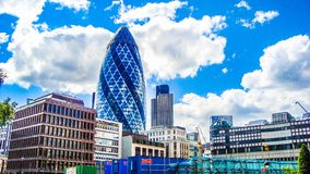 Gherkin building Royalty Free Stock Image
