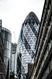 The Gherkin  Building Stock Photo