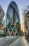 The Gherkin building in London Stock Images