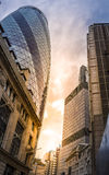 The Gherkin building Royalty Free Stock Images