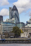 The Gherkin building in London Stock Photography