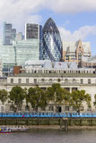 The Gherkin building in London Royalty Free Stock Images