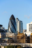 The Gherkin building in London, UK Stock Image