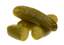 Gherkin isolated Royalty Free Stock Photo