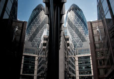 The Gherkin, London City Stock Image