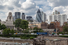 The Gherkin London Royalty Free Stock Photos
