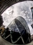 Gherkin in London (Swiss re) Royalty Free Stock Image
