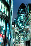 The Gherkin, London, UK. Royalty Free Stock Images