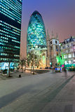 The Gherkin, London, UK. Royalty Free Stock Image
