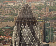 The Gherkin in London Royalty Free Stock Photo