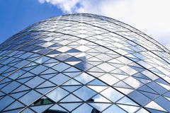 The Gherkin from low angle Royalty Free Stock Image