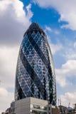 Gherkin. The Gherkin modern building in London, UK Stock Image