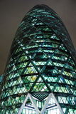 The Gherkin at night Stock Photography