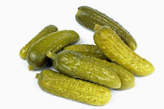 Gherkin  pickled cucumbers Stock Photos