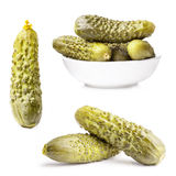 Gherkin (Pickles) Royalty Free Stock Photos