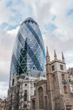 The Gherkin skyscraper in London Stock Photos