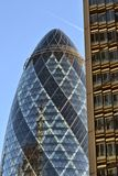 The Gherkin building London Royalty Free Stock Photography