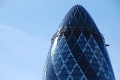 The Gherkin Swiss Re Builing Stock Image