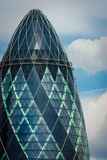 The Gherkin' top Stock Image