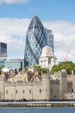 Gherkin Tower Royalty Free Stock Photography