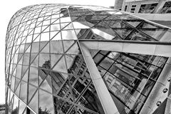 The Gherkin tower Royalty Free Stock Images