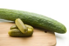 Gherkins Royalty Free Stock Photo