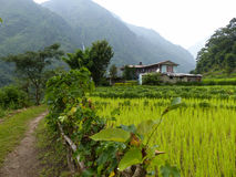 Ghermu village - Nepal Royalty Free Stock Photo