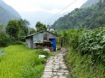 Ghermu village - Nepal Royalty Free Stock Photography