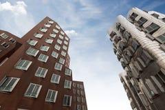 Ghery-Gebäude - Dusserldorf lizenzfreie stockbilder