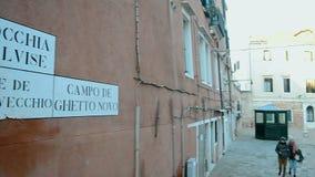 Ghetto (Campo Di Ghetto Nuova), Venice, Italy, stock video footage