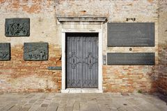 The Ghetto (Gheto) in Venice Stock Images