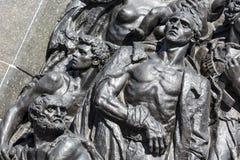 Ghetto Heroes Memorial, detail royalty free stock photos