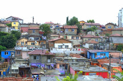 Ghetto view,Maksuda,Varna Stock Photography