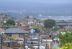 Ghetto view,Maksuda,Varna Stock Photo