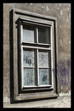 Ghetto window Royalty Free Stock Photos