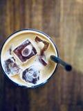 Ghiacci Americano, la bevanda fresca, bevande dell'estate immagine stock