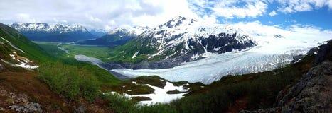 Ghiacciai dell'Alaska fotografie stock libere da diritti