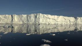Ghiacciai della Groenlandia video d archivio