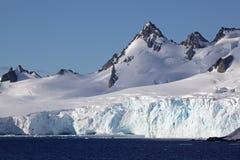 Ghiacciai e montagne dell'Antartide Immagine Stock Libera da Diritti