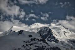 Ghiacciai nelle montagne della Svizzera Immagini Stock