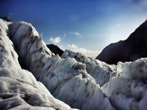 ghiacciaio Fotografia Stock Libera da Diritti