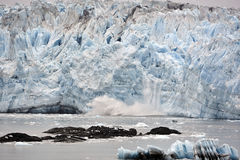Ghiacciaio Alaska di Hubbard Fotografia Stock