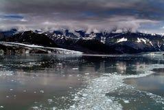 Ghiacciaio Alaska di Hubbard Fotografia Stock Libera da Diritti