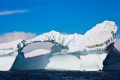 Ghiacciaio antartico Immagini Stock Libere da Diritti