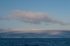 Ghiacciaio in Antartide Immagini Stock