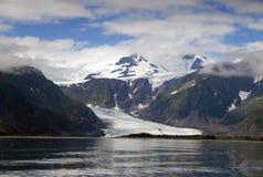 Ghiacciaio dell'Alaska Fotografia Stock