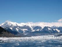 Ghiacciaio dell'Alaska Immagini Stock